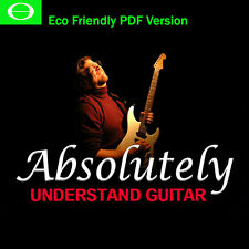 Absolutely Understand Guitar, Complete 32 Hour DVD Guitar Lessons Eco Version