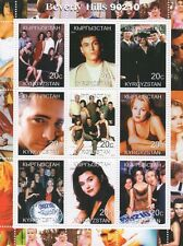 BEVERLY HILLS 90210 NINETIES LUKE PERRY SOAP OPERA 2000 MNH STAMP SHEETLET