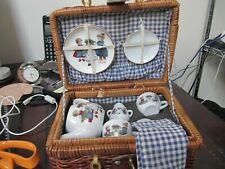 Vintage childs tea set Germany Reuter Porzelian