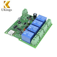 DC 5V 4 Channel WiFi Wireless Delay Relay Switch With APP Remote Control Module