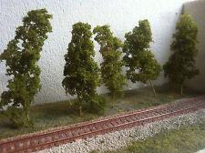 alberi per plastico diorama ferroviario