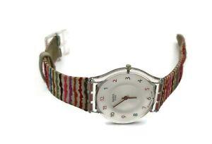 Swiss Swatch Watch AG 2008 Ladies Wrist Watch Needs Battery
