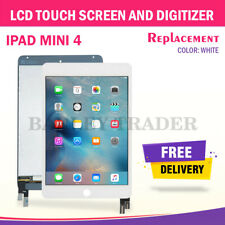 For iPad Mini 4 Replacement LCD Digitizer Touch Screen Assembly Display White