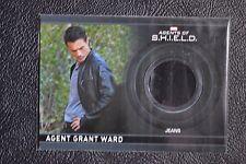 Marvel Agents of Shield CC5 Agent Grant Ward Wardrobe Costume Relic Trading Card