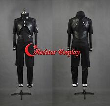 New Tokyo Ghouls II Ken Kaneki Cosplay Costume Pleather Suit