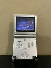 Nintendo Game Boy Advance SP001 Silver. Brand New Battery. Cleaned And Tested.