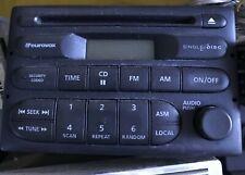 COMMODORE VT VX  RADIO CD PLAYER GM HOLDEN COMMODORE  & PIN CODE