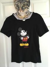 Women's Vintage 90s Disney World XL Mickey Mouse Shirt Top Indie Hipster Trendy