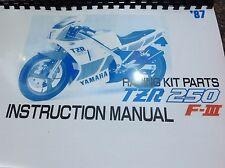 YAMAHA TZR 250 2MA factory racing kit manual - hop up kit