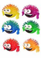 Light Up Flashing Puffer SPIDER Squidgy Spikey Sensory Stress ADHD Funny Fidget