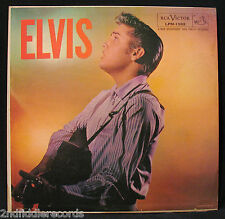 ELVIS PRESLEY-ELVIS-1957 First Pressing-1s in Trailoff-RCA VICTOR #LPM 1382