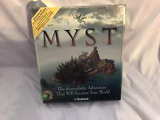 Big Box Lot Myst & Riven Sequel Complete PC Games Complete W Hint Books