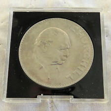 UK UNCIRCULATED 1965 CHURCHILL CROWN - in small spink style case