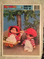 Vintage 1981 - The Original Monchhichi Frame Tray Puzzle - Complete