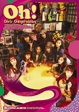 Girls' Generation SNSD 2ND ALBUM [ OH! ] CD+BOOKLET  New Sealed