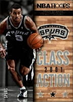 2013-14 Hoops Class Action #12 Tony Parker - NM-MT