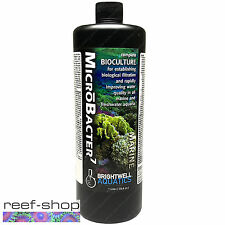 Brightwell MicroBacter 1 Liter 32oz Liquid Reef Bioculture Free USA Shipping