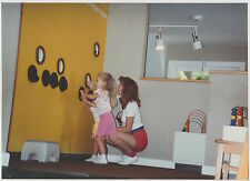 Found PHOTO Little Girl & Mom At Magic House Children's Museum
