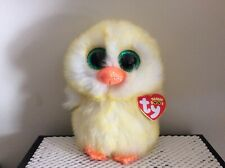 "Ty Beanie Boo LEMON DROP the Easter Chick ~ 6""~ MWMTS"