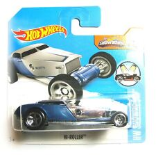 Hot Wheels Hi-Roller cromo-azul 8/10