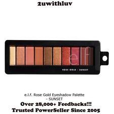 ELF E.L.F. MAKEUP EYESHADOW PALETTE ROSE GOLD - SUNSET #81495 NWOB