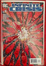 °INFINITE CRISIS  #6 von 7 TOUCHDOWN GEORGE PEREZ COVER° US DC 2006 Geoff Johnes