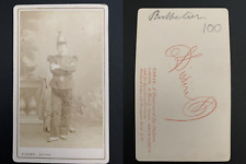 Disdéri, Paris, Jean Berthelier, ténor Vintage carte de visite, CDV.  Ti