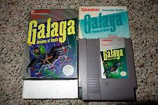 Galaga: Demons of Death (Nintendo NES, 1985) Complete in Box Grey Circle B FAIR