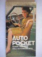 Auto pocket Guida pratica dell'automobilistamotori automobilismo illustrato 39