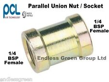 PCL 1/4 BSP PARALLEL Connector - Air compressor fitting for tool & hose     823