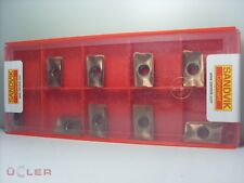 10X Sandvik R390-170408M-KM 1020 Inserti per Tornitura Inserti Metallo Duro
