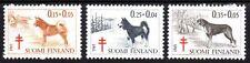 Finland - 1965 Tuberculosis: Dogs Mi. 600-02 MNH
