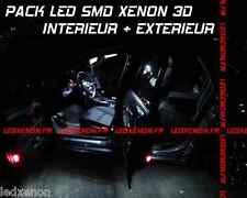 22 AMPOULE LED SMD XENON RENAULT CLIO 3 PHASE1 2005-09 PACK TUNING KIT ECLAIRAGE