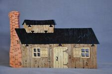 Maple Syrup Sugar House Log Cabin Handmade Wooden Puzzle Amish Scroll Toy