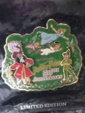 Disney Dl - Peter Pan 50th Anniversary (3D) Pin Le 1500 Sealed