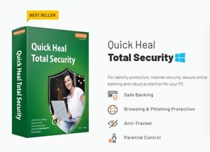 Quick Heal Total Security Standard - 5 PCs , 3 Years ( Free Email Delivery