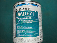 PPG DELTRON DMD 671 TRANSPARENT RED OXIDE UNIVERSAL MIXING BASE DBU DBC