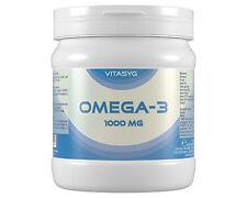 (2,62€/100g)Vitasyg Omega 3 Fischöl 1000 mg - 500 Gel Kapseln Top Qualität Fisch