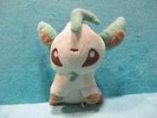 "The Pokemon Company International Eevee Leafeon Soft Plush Stuffed Teddy Toy 6"""