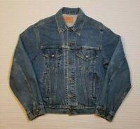 VTG Vintage Levi's Denim Trucker Jacket  70506-0216 Size 44 EUC