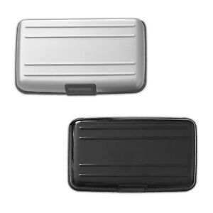 2er Set RFID Schutz Aluminium Kartenetui | Alu Kreditkartenetui | EC Karten Etui