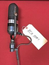 RCA 77B-1 Ribbon Microphone, Professionally Serviced- Awesome Sounds!