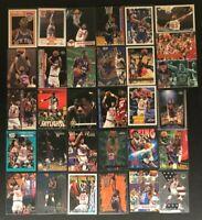 Patrick Ewing 31 Cards-NY Knicks-1989-2020- Hoops/Fleer/Skybox/Upper Deck/Panini