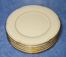 "Noritake, Golden Cove (7719, '86-'99) - Set Of Five 8¼"" Salad Plates (VG+)"