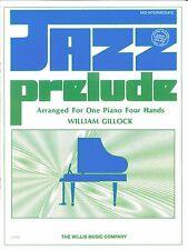 Jazz Prelude Piano Duet Mid Intermediate Sheet Music Gillock Junior Festivals