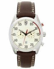 Scuderia Ferrari Men's D50 Brown Strap Watch. From the Argos Shop on ebay