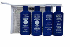Nisim Hair Loss Survival Travel Kit Normal to Dry Hair 4 Piece  2oz Ea