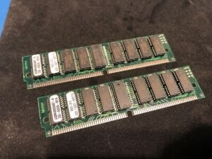 2x 16MB 4Mx36 4x36 FPM Fast Page Mode PS/2 SIMM Memory RAM Parity 72-Pin