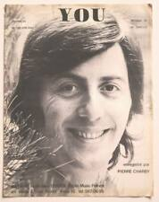 Partition vintage sheet music PIERRE CHARBY : You * 70's Delancray Simille