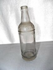 Vintage Knox Pop Kola Soda Clear Glass Bottle Embossed 12 Oz.